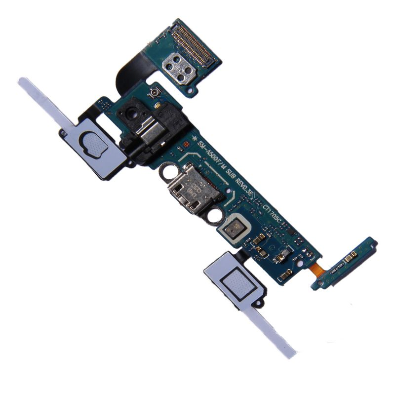 Micro USB port with headphone Jack + keypad and sensor flex for Samsung Galaxy A5 A500F – Bild 1