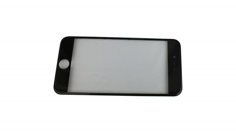 Premium frontglass black with middle frame for iPhone 6