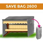Protective-Cover / Save-Bag 2600 silver 001