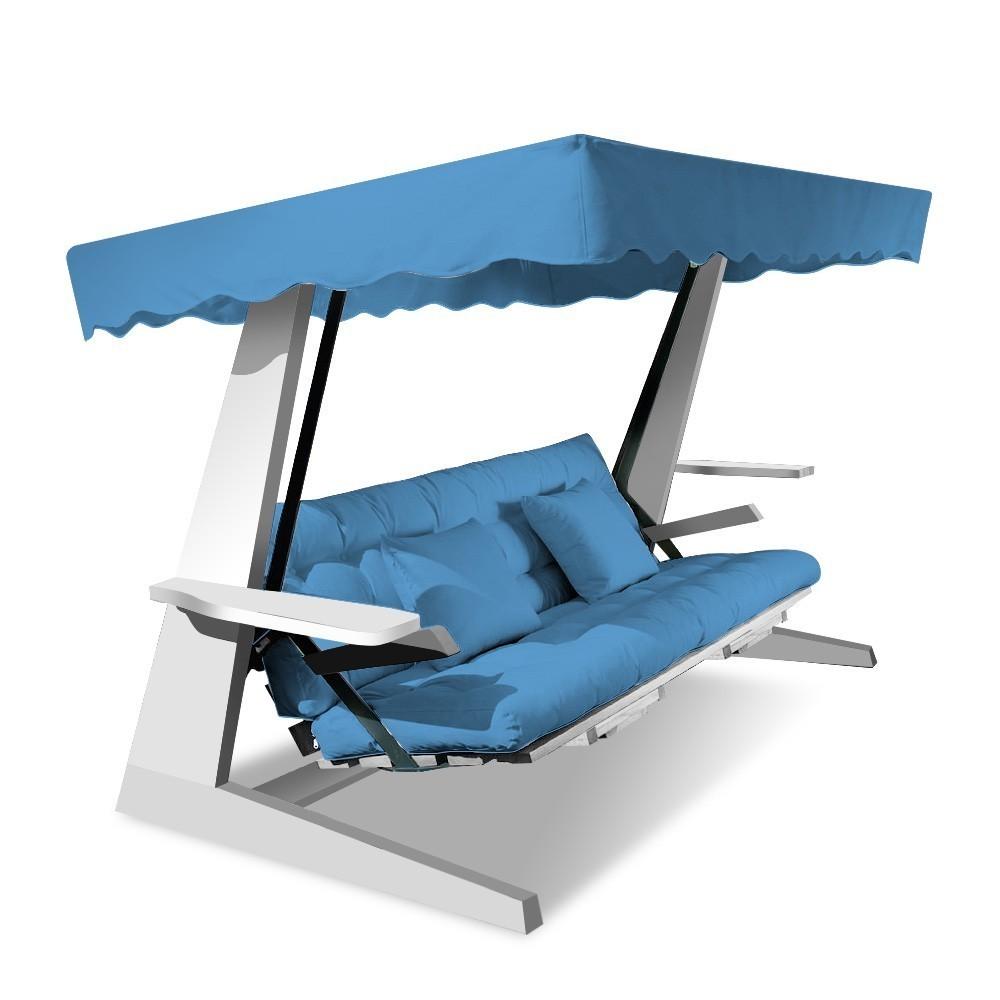 hollywoodschaukel beach 2600 f r 4 personen hollywoodschaukeln lionswing beach. Black Bedroom Furniture Sets. Home Design Ideas