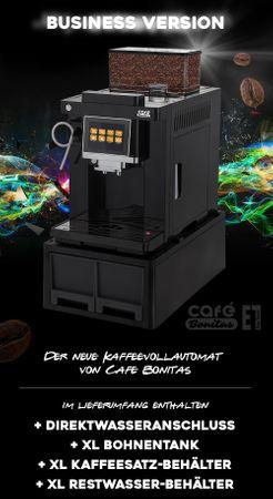 """XL Business-Ausstattung """"One-Touch"""" Kaffeevollautomat """"EasyTouch"""" black / Business inkl. Garantie-Paket – Bild 4"""