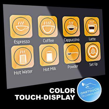 """One-Touch"" Kaffeevollautomat ""EasyTouch"" white inkl. Garantie-Paket – Bild 3"