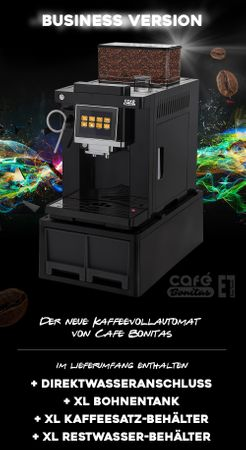 "XL Business-Ausstattung ""One-Touch"" Kaffeevollautomat ""EasyTouch"" white / Business inkl. Garantie-Paket – Bild 4"