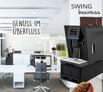 """One-Touch"" Kaffeevollautomat ""Swing"" black / XL Business-Ausstattung inkl. Garantie-Paket 001"