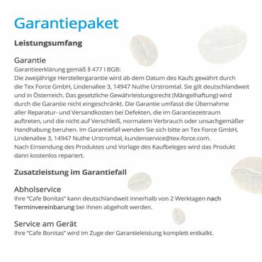 """One-Touch"" Kaffeevollautomat ""Swing"" Star inkl. Garantie-Paket crema – Bild 4"
