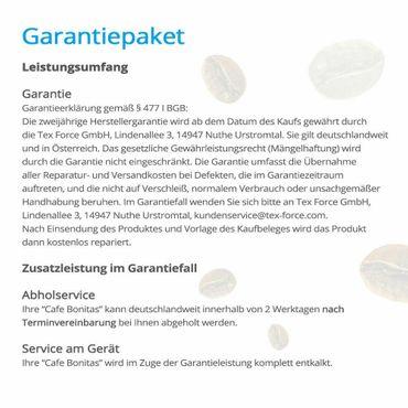 """One-Touch"" Kaffeevollautomat ""Swing"" Star inkl. Garantie-Paket bronze – Bild 4"