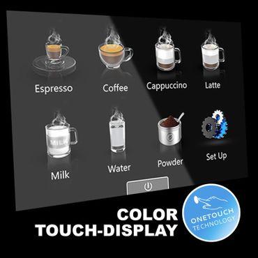 """One-Touch"" Kaffeevollautomat ""Swing"" Star inkl. Garantie-Paket bronze – Bild 3"