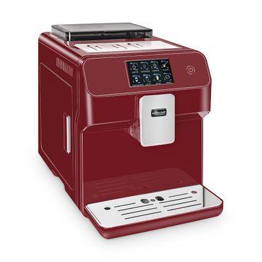 """One-Touch"" Kaffeevollautomat ""KINGSTAR"" rubin / hochglanz inkl. Garantie-Paket + 1 Thermo-Glas 250ml – Bild 4"