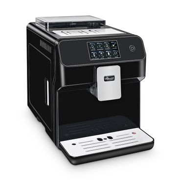 """One-Touch"" Kaffeevollautomat ""KINGSTAR"" black / hochglanz inkl. Garantie-Paket + 1 Thermo-Glas 250ml – Bild 5"