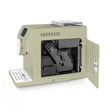 """One-Touch"" Kaffeevollautomat ""KINGSTAR"" lime / hochglanz inkl. Garantie-Paket + 1 Thermo-Glas 250ml – Bild 8"