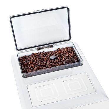 """One-Touch"" Kaffeevollautomat ""KINGSTAR"" white / hochglanz inkl. Garantie-Paket + 1 Thermo-Glas 250ml – Bild 9"