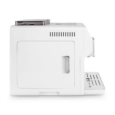 """One-Touch"" Kaffeevollautomat ""KINGSTAR"" white / hochglanz inkl. Garantie-Paket + 1 Thermo-Glas 250ml – Bild 5"