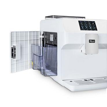 """One-Touch"" Kaffeevollautomat ""KINGSTAR"" white / hochglanz inkl. Garantie-Paket + 1 Thermo-Glas 250ml – Bild 8"