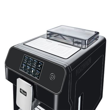 """One-Touch"" Kaffeevollautomat ""KINGSTAR"" black / hochglanz + 1 Thermo-Glas 250ml – Bild 6"