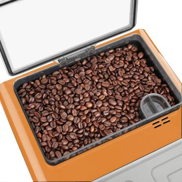 """One-Touch"" Kaffeevollautomat ""NEWSTAR"" orange / hochglanz – Bild 7"