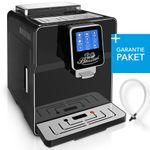 """One-Touch"" Kaffeevollautomat ""NEWSTAR"" black / hochglanz inkl. Garantie-Paket  001"