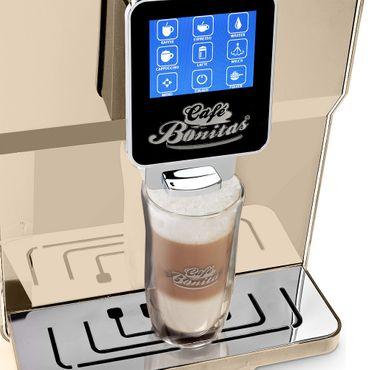 """One-Touch"" Kaffeevollautomat ""NEWSTAR"" crema / hochglanz inkl. Garantie-Paket  – Bild 9"