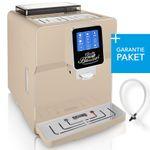 """One-Touch"" Kaffeevollautomat ""NEWSTAR"" crema / hochglanz inkl. Garantie-Paket  001"