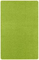 Kurzflor Uni Teppich Nasty Grün