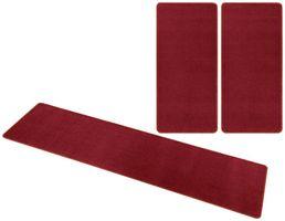 Kurzflor Uni Teppich Nasty Rot  – Bild 9