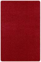 Kurzflor Uni Teppich Nasty Rot  – Bild 1