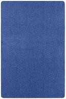 Kurzflor Uni Teppich Nasty Blau – Bild 1