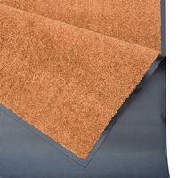 Schmutzfangmatte Fußmatte Wash & Clean orange – Bild 6