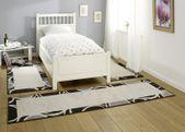 Design Bettumrandung Curve Creme Grau Dunkelbraun  001