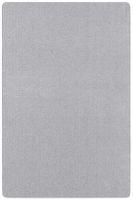 Kurzflor Uni Teppich Nasty Silber 001
