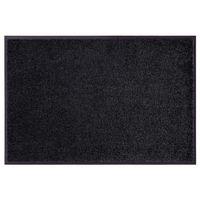 Schmutzfangmatte Fußmatte Wash & Clean schwarz – Bild 1