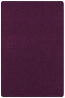Kurzflor Uni Teppich Nasty Brombeer Violett  – Bild 1