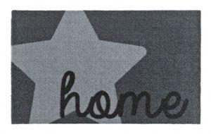 Fußmatte Schmutzfangmatte Stern Home Grau 50x70 cm – Bild 1