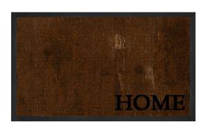 Schmutzfangmatte Deluxe Home Braun Anthrazit 45x75 cm – Bild 1