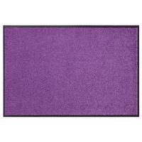 Schmutzfangmatte Fußmatte Wash & Clean Violett – Bild 1