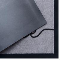 Schmutzfangmatte Cozy Welcome Grau Schwarz 45x75 cm – Bild 2