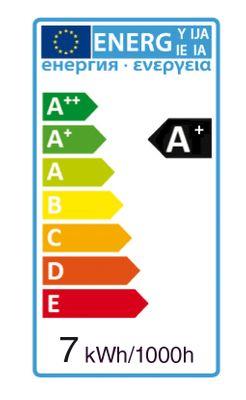 LED Spot ersetzt 45-55W GU10 7W 540lm 3000K warmweiß 38° 230V nicht dimmbar 2 Jahre Garantie – Bild 6