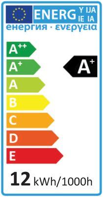 LED Lampe ersetzt 75W E27 matt 12W 1055lm 3000K warmweiß 270° 230V nicht dimmbar 2 Jahre Garantie – Bild 6