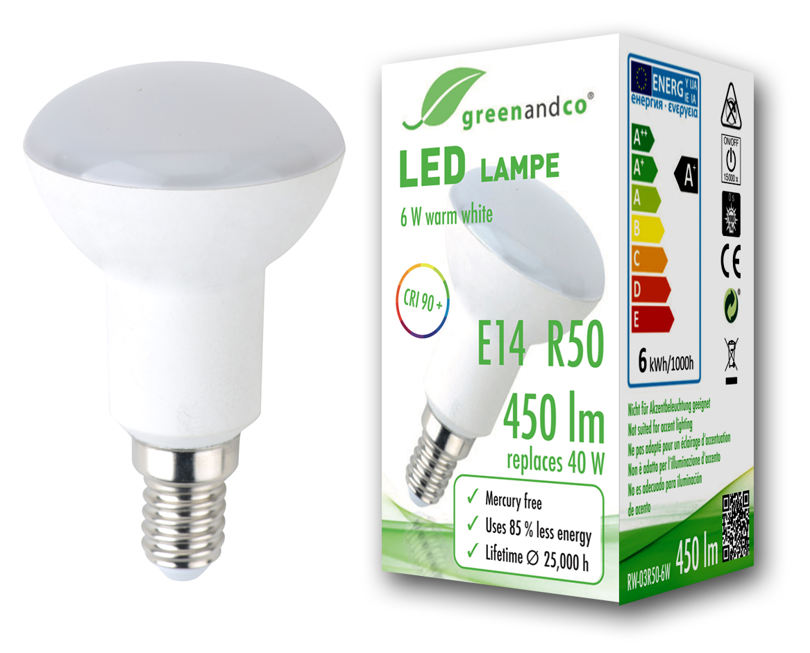50x LED Glühbirne 9 Watt 60 Watt E27 Warmweiss Leuchtmittel inkl.Versand