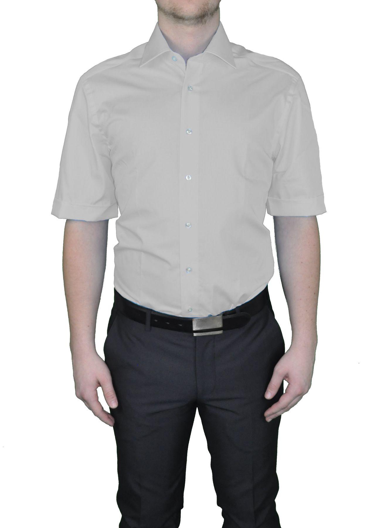Bügelfreies Herren Kurzarm Hemd in verschiedenen Farben, Stil: BODY CUT, Marke REDMOND(150910 A) – Bild 10