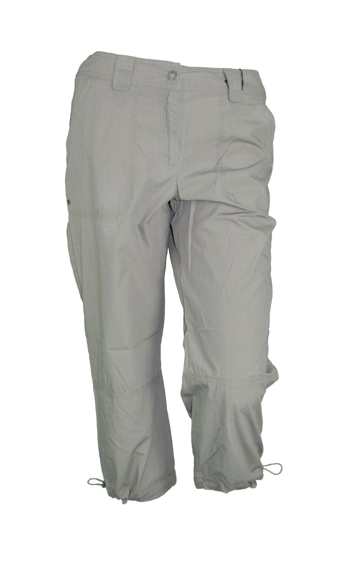 Damen 7/8 Hose in der Farbe Khaki, Art. Bora(887-58)