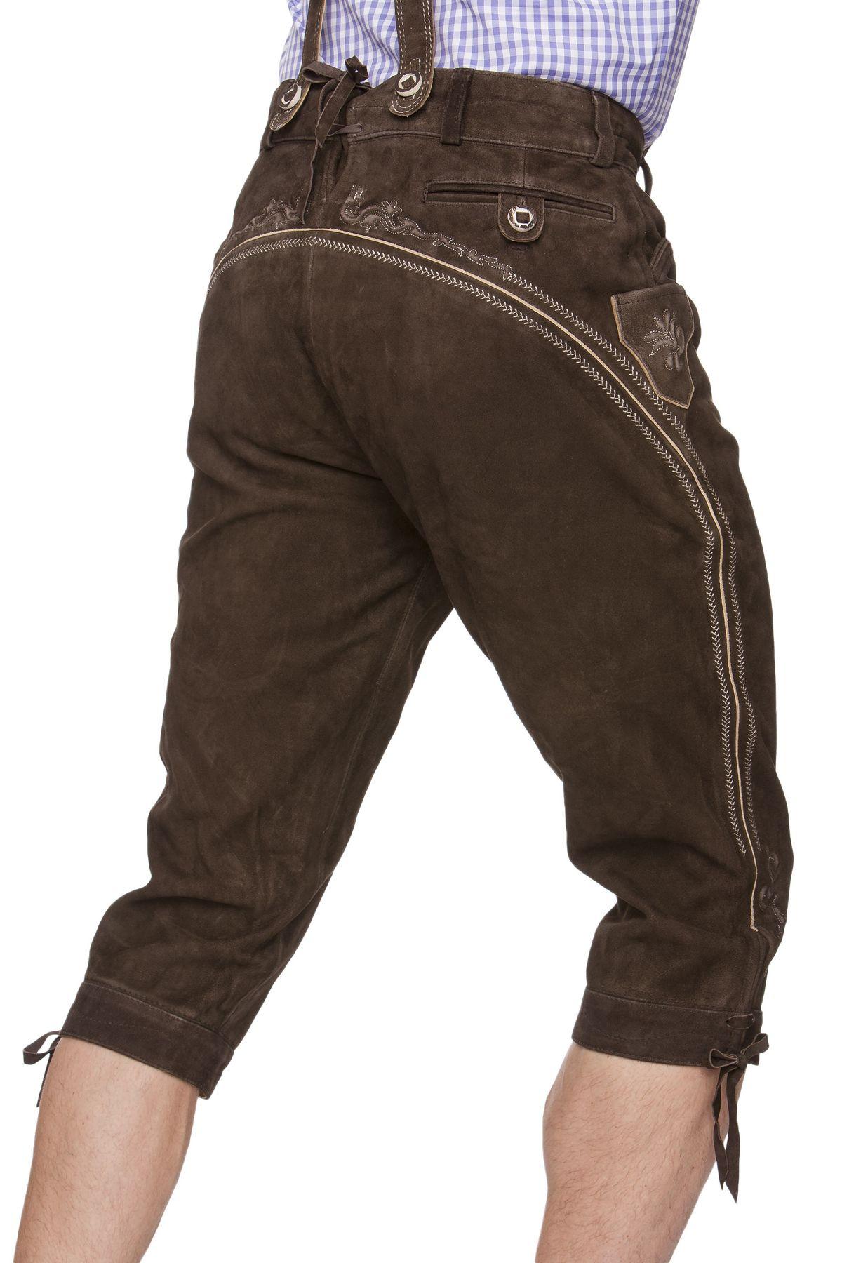 Stockerpoint - Herren Trachten Lederhose, Art. Justin2 – Bild 7