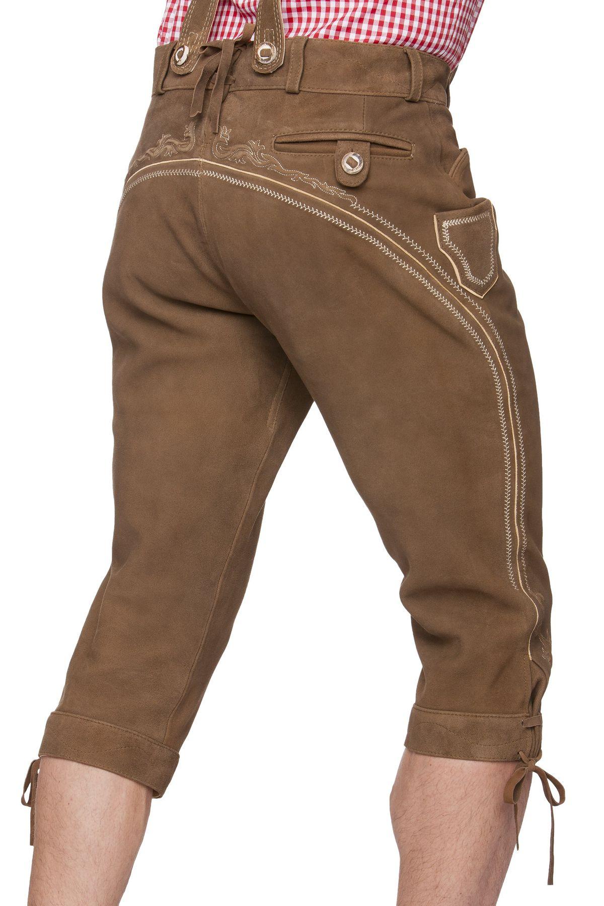 Stockerpoint - Herren Trachten Lederhose, Art. Justin2 – Bild 5