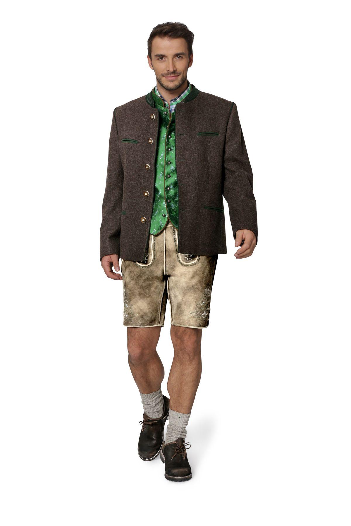 Stockerpoint - Herren Trachten Janker aus reiner Schurwolle, Stachus – Bild 13