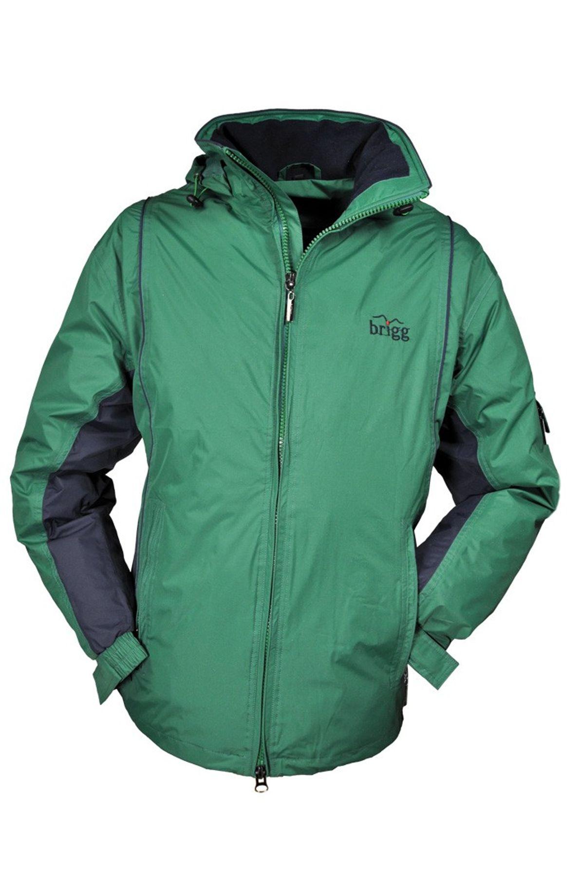 BRIGG - Unisex Funktions Jacke in diversen Farbvarianten, Wasserdicht, Atmungsaktiv, Winddicht, FS (1001 2001)