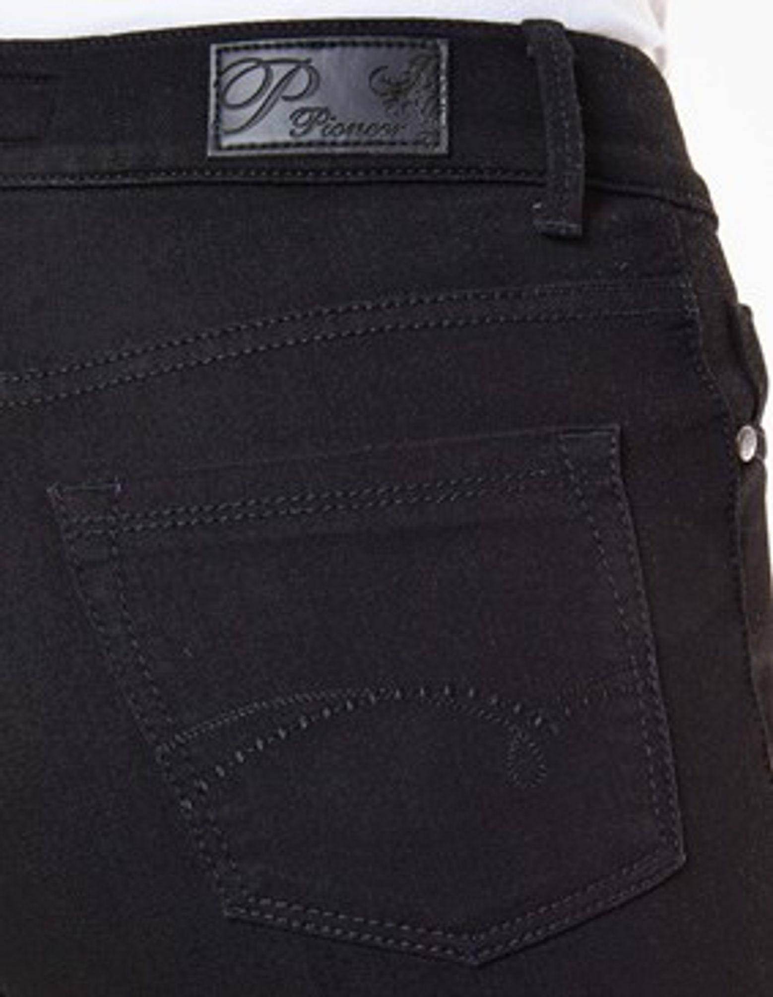 ef81821505c1 Pioneer - Damen 5-Pocket Jeans in der Farbe Schwarz, Regular Fit, Kate