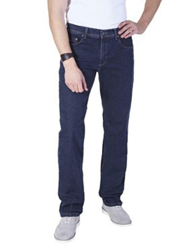 Pioneer - Übergrößen - Herren 5-Pocket Jeans in der Farbe Dunkelblau, Regular Fit, Rando (1680 938 02) 001