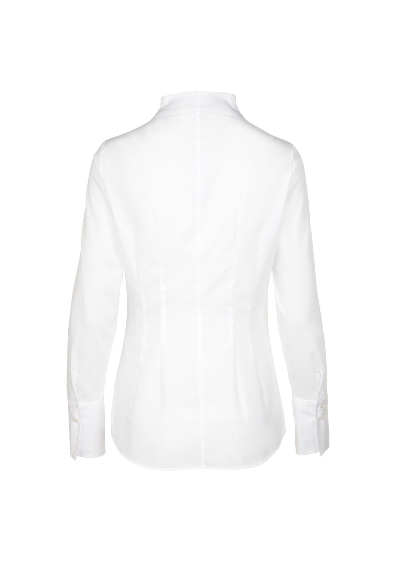 Seidensticker - Slim Fit - Damen City-Bluse 1/1-lang in weiß (60.118201) – Bild 2