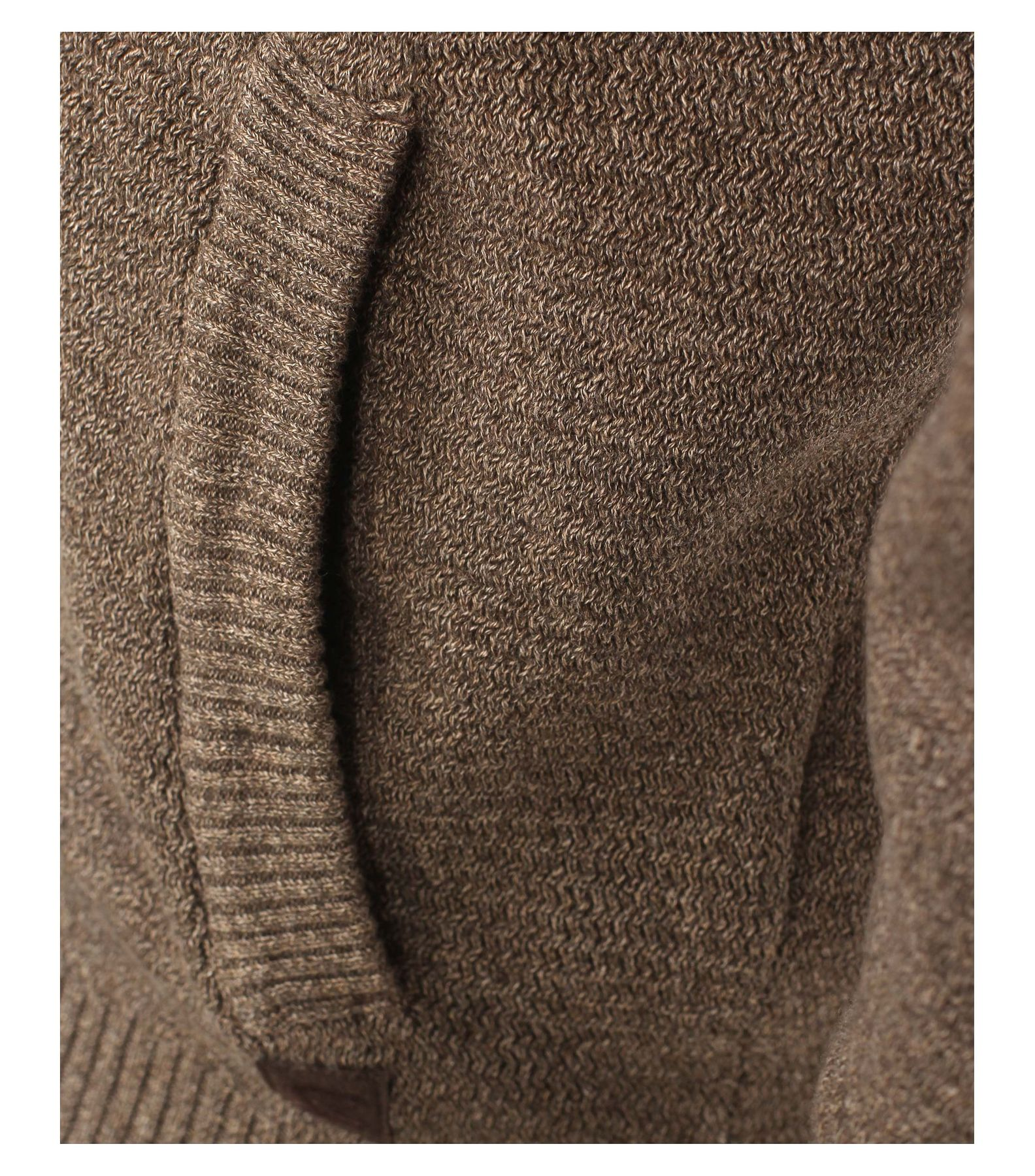 Casa Moda - Herren Strickjacke aus 100% Baumwolle mit Stehkragen (462521300A) – Bild 3