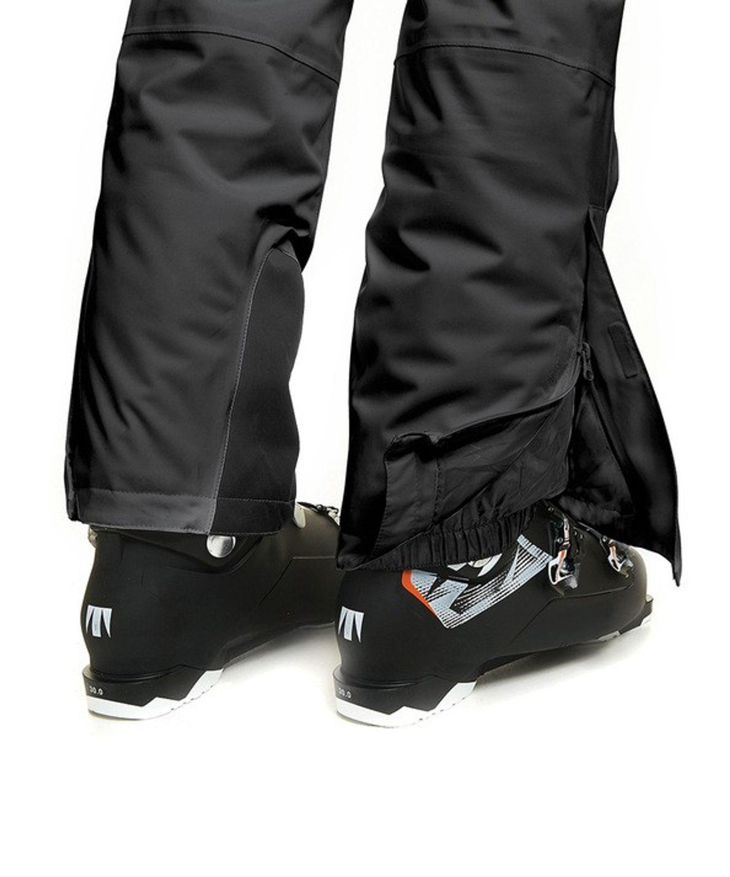Maier Sports- Herren Ski Hose in Schwarz Artikel Anton 2 (100000) – Bild 3