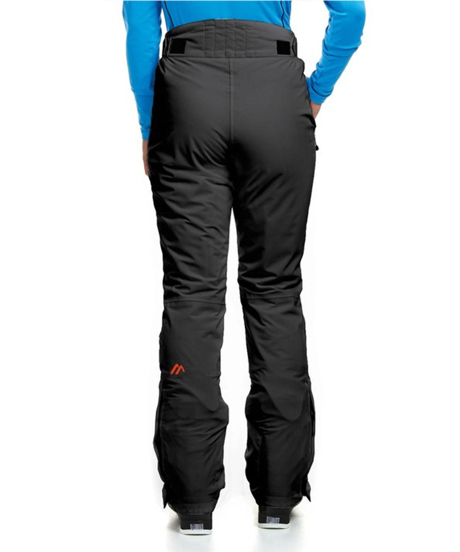Maier Sports- Damen Ski Hose in Schwarz Artikel Vroni (200001) – Bild 2